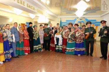 В единой казахстанской семье