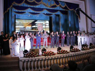 В Атырау прошел творческий вечер композитора Роальда Топчевского
