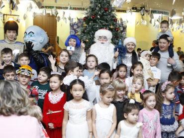 В г. Актау проведена Новогодняя ёлка
