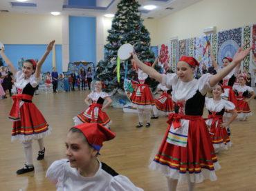 Детский новогодний утренник, АРЦ «Славяне»