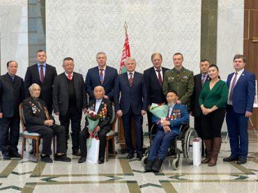 В Нур-Султане чествовали ветеранов, освобождавших Беларусь