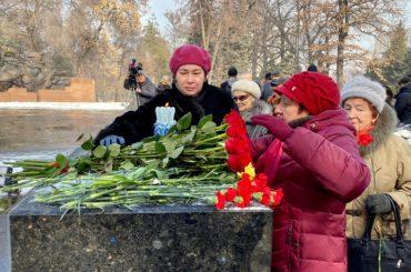 День блокадника в Алматы