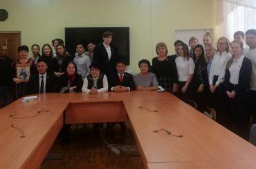 Международная акция «Нас миллионы панфиловцев» в Алматы