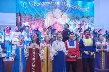 Праздник Рождества отметили российские соотечественники в Нур-Султане