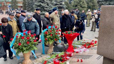 В Алматы почтили память павших воинов-интернационалистов