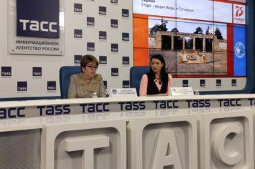 В пресс-центре ТАСС прошла пресс-конференция, посвященная проектам Россотрудничества в год празднования 75-летия Победы