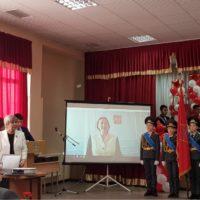 Посвящение в юные панфиловцы в Алматы