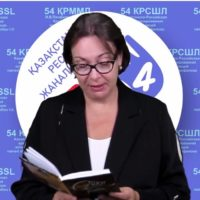 Акция «Почитаем Абая» проходит в Алматы