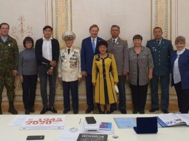 Командир отряда павлодарских поисковиков награжден медалью Министерства обороны РФ