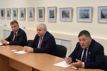 Встреча депутатов Государственной Думы России с соотечественниками в Казахстане