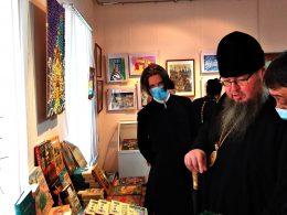 В Петропавловске проходит выставка «Рождественские фантазии»