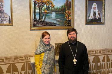 Представительство Россотрудничества развивает взаимодействие с Астанайским церковным округом РПЦ в Казахстане