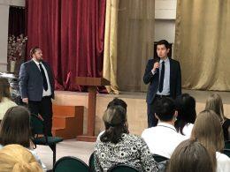 Встреча представителей Казанского Федерального университета с будущими абитуриентами КФУ