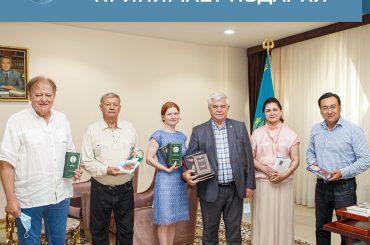 Столица Казахстана принимает подарки