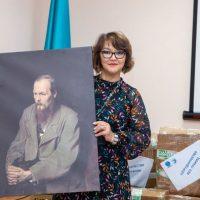 🎉 Сотрудники Русского дома в Нур-Султане поздравили библиотекарей с профессиональным праздником