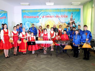 Ролики оркестра «Русские узоры»